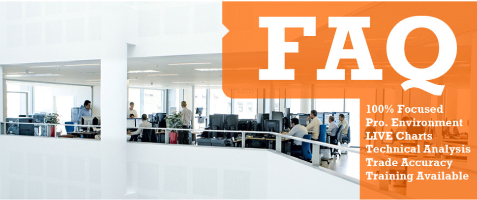 frequently asked questions for our trade room services